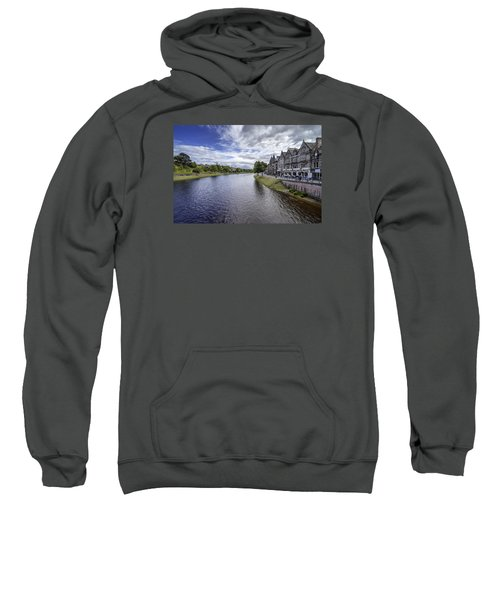 Sweatshirt featuring the photograph Inverness by Jeremy Lavender Photography
