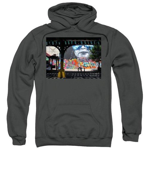 Inwood Street Art  Sweatshirt by Cole Thompson