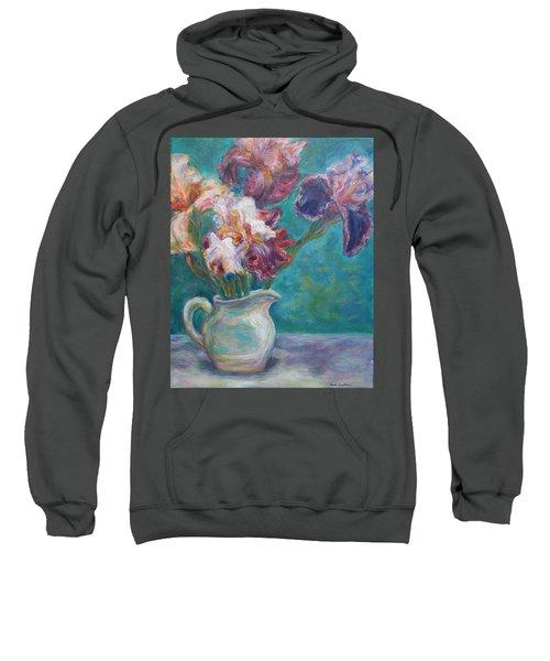 Iris Medley - Original Impressionist Painting Sweatshirt
