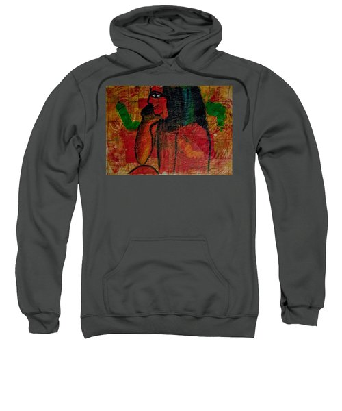 Isis, Egyption Queen Of Earth Sweatshirt