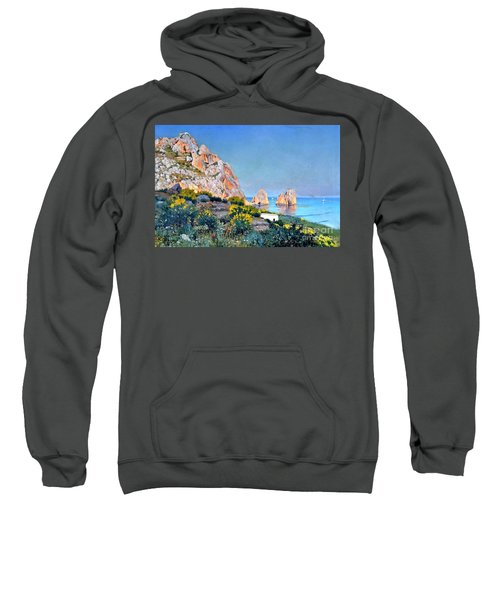 Island Of Capri - Gulf Of Naples Sweatshirt