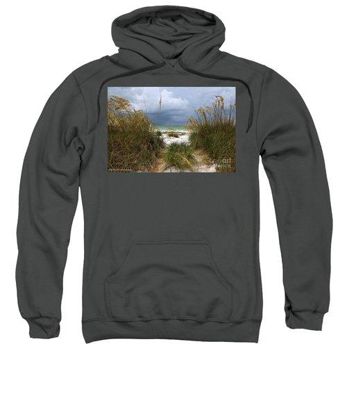 Island Trail Out To The Beach Sweatshirt