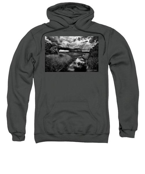 Isolated Shower - Bw Sweatshirt