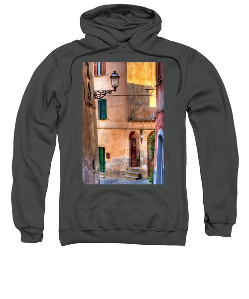 Italian Alley Sweatshirt by Silvia Ganora