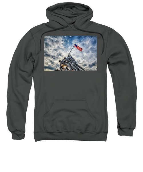 Iwo Jima Memorial Sweatshirt