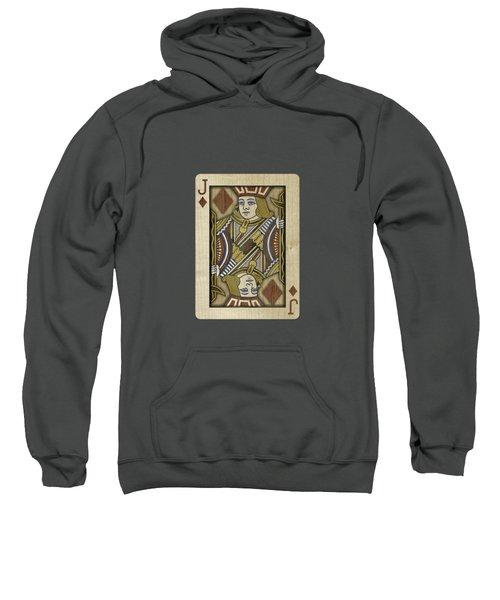 Jack Of Diamonds In Wood Sweatshirt