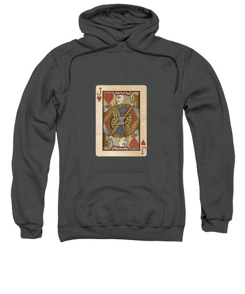 Jack Of Hearts In Wood Sweatshirt