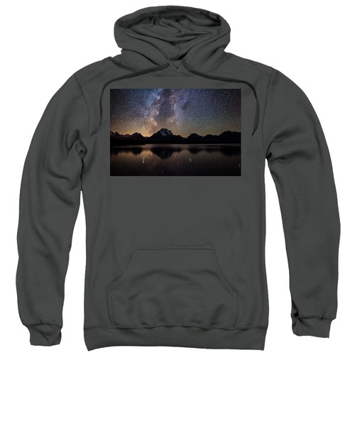 Jackson Lake Milky Way Sweatshirt