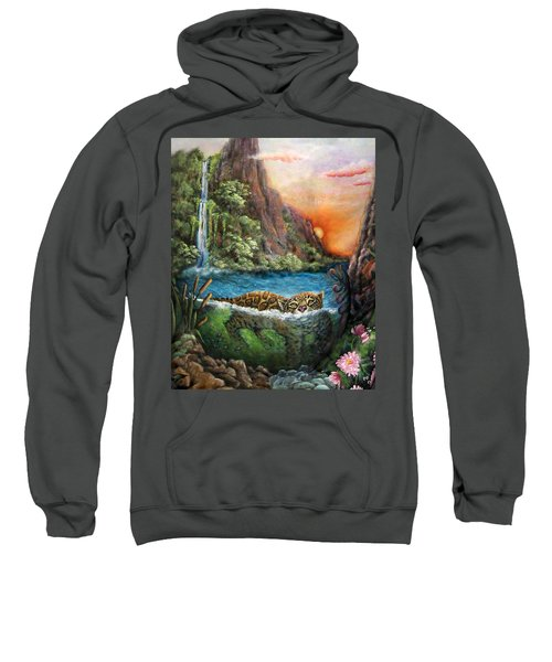 Jaguar Sunset  Sweatshirt