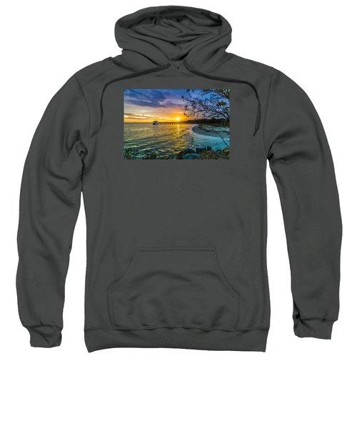 James Island Sunrise - Melton Peter Demetre Park Sweatshirt