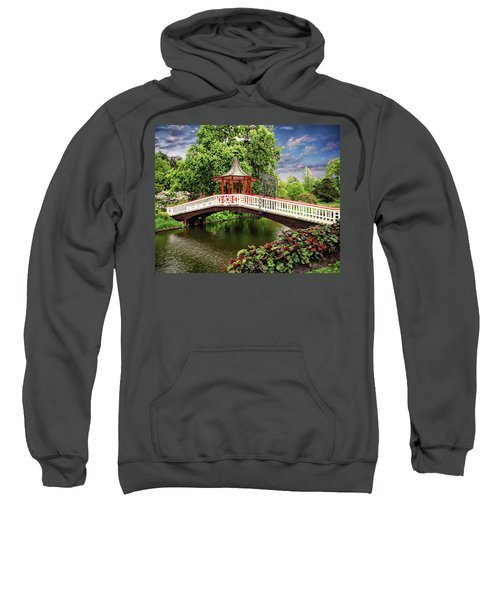 Japanese Bridge Garden Sweatshirt