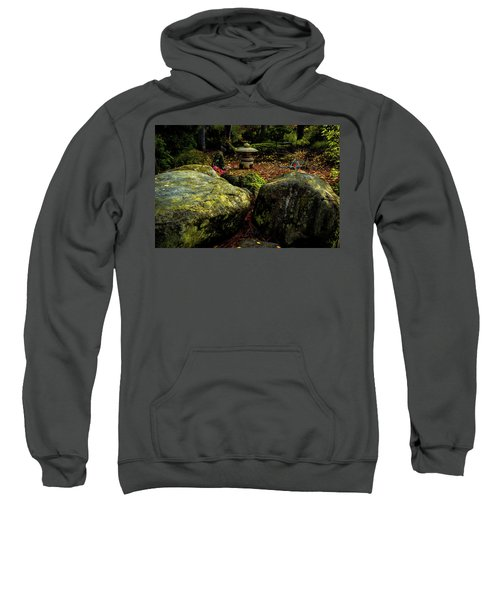 Japanese Garden Lantern Sweatshirt