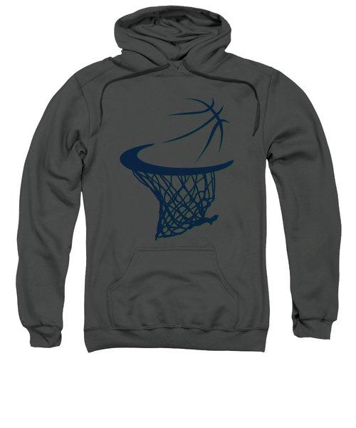 Jazz Basketball Hoop Sweatshirt