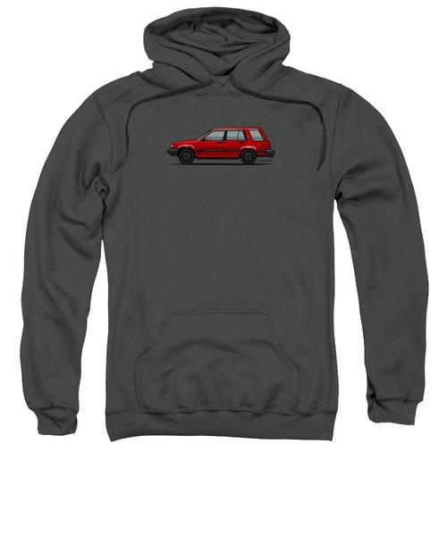 Jesse Pinkman's Crappy Red Toyota Tercel Sr5 4wd Wagon Al25 Sweatshirt