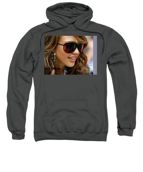 Jessica Alba, Cool Shades Sweatshirt