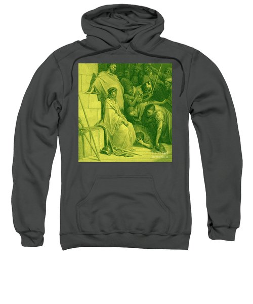 Jesus Is Mocked By Roman Soldiers Sweatshirt