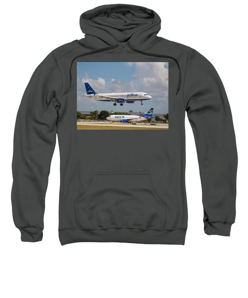 Jetblue Over Spirit Air Sweatshirt