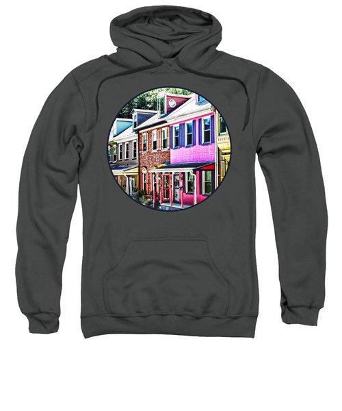 Jim Thorpe Pa - Colorful Street Sweatshirt