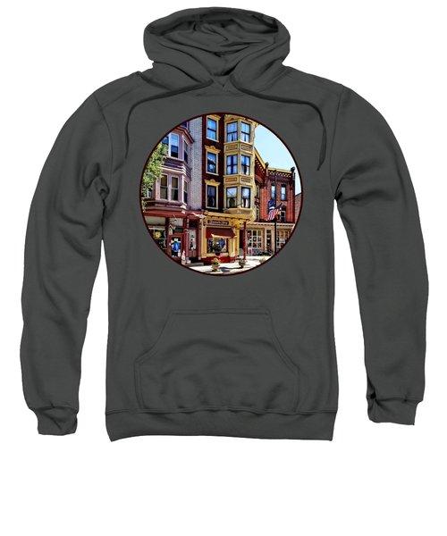 Jim Thorpe Pa - Shops Along Broadway Sweatshirt