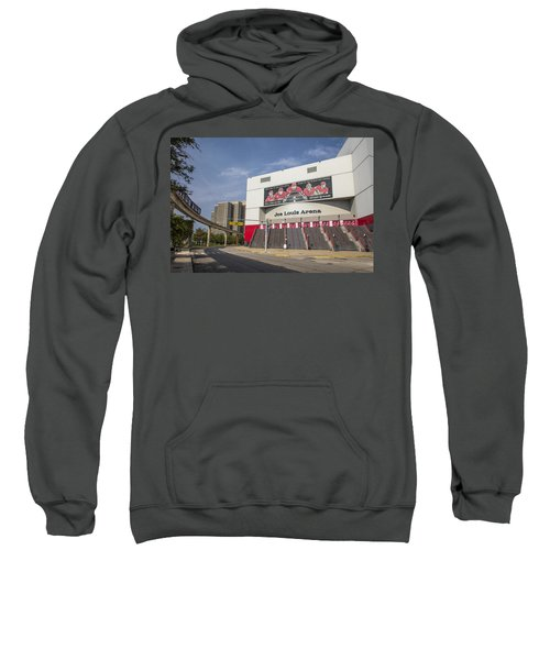 Joe Louis Arena Detroit  Sweatshirt