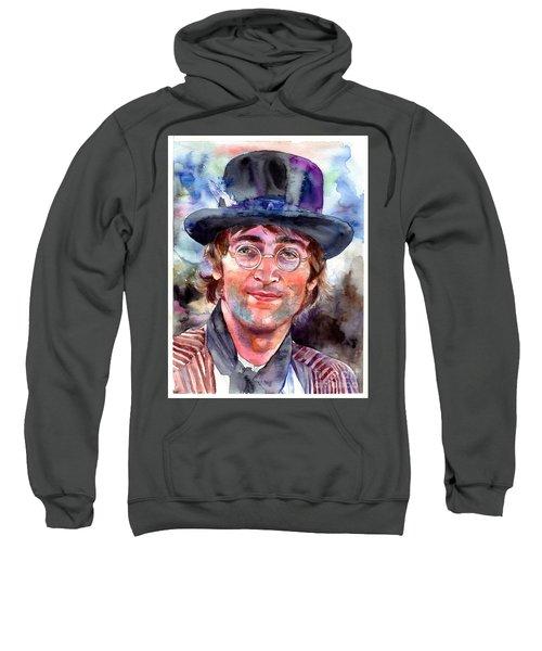 John Lennon Portrait Sweatshirt