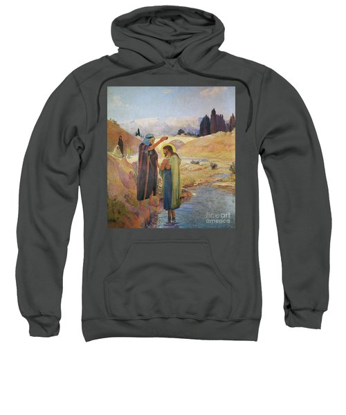 John The Baptist Baptized Jesus Christ Sweatshirt