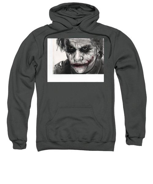 Joker Face Sweatshirt by James Holko