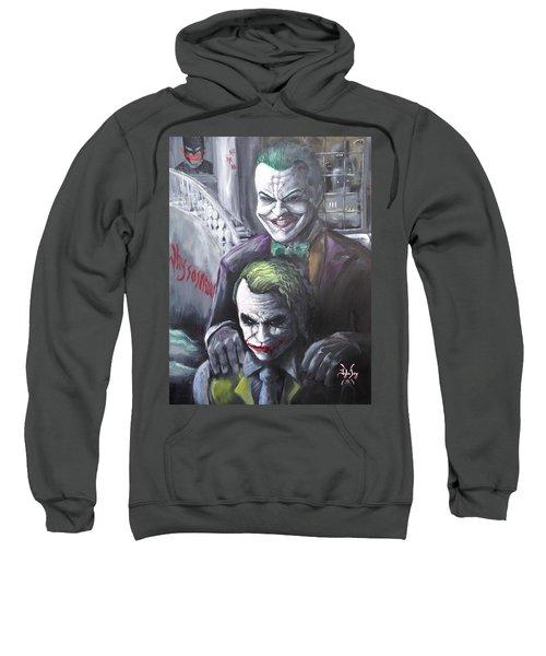 Jokery In Wayne Manor Sweatshirt