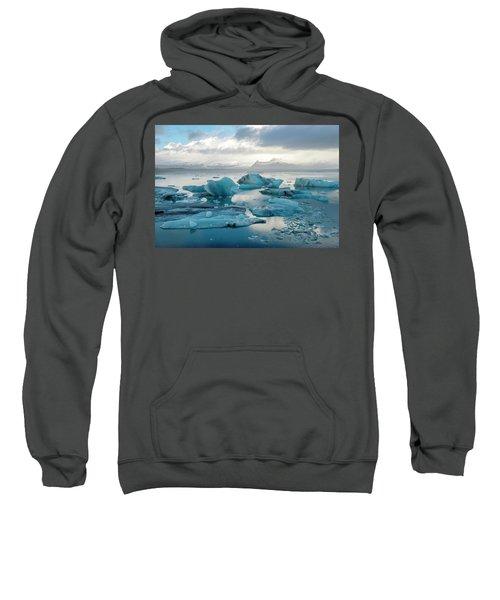 Jokulsarlon, The Glacier Lagoon, Iceland 6 Sweatshirt
