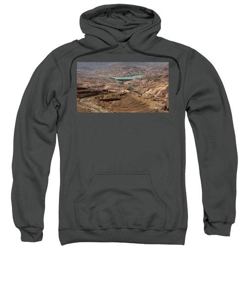 Sweatshirt featuring the photograph Jordan River by Mae Wertz