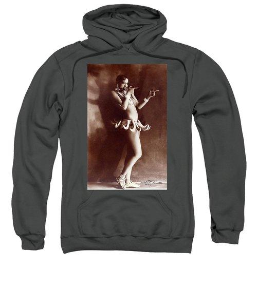 Josephine Baker Lucien Walery   Banana Skirt From The Folies Bergere Production Un Vent De Folie Sweatshirt