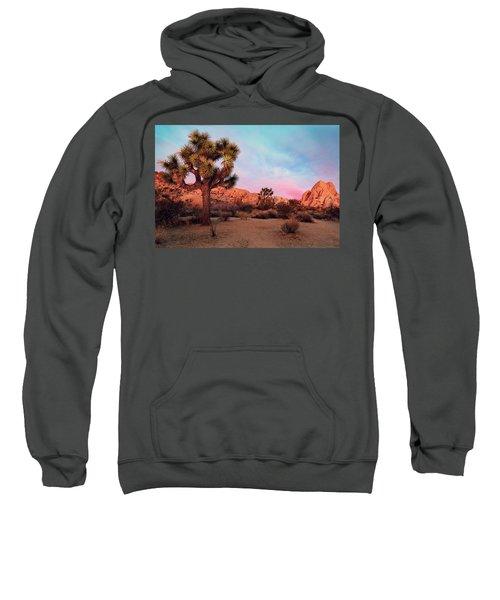 Joshua Tree With Dawn's Early Light Sweatshirt