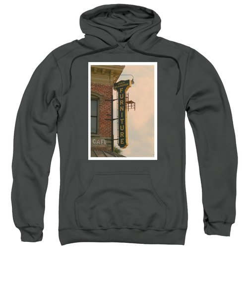 Juan's Furniture Store Sweatshirt by Robert Youmans