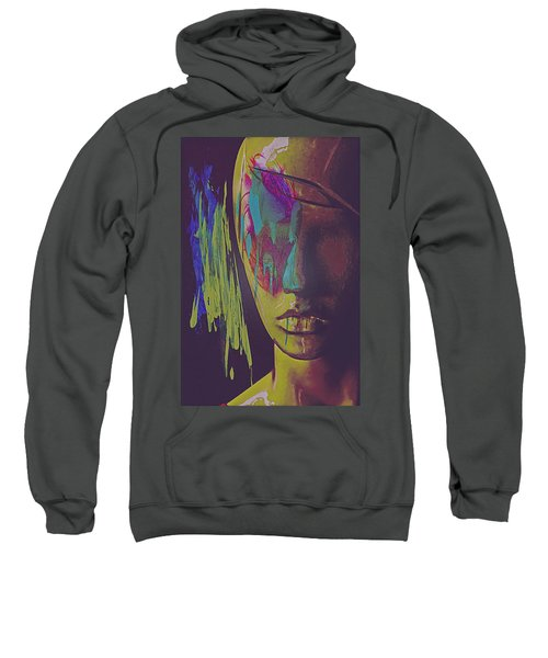 Judgement Figurative Abstract Sweatshirt