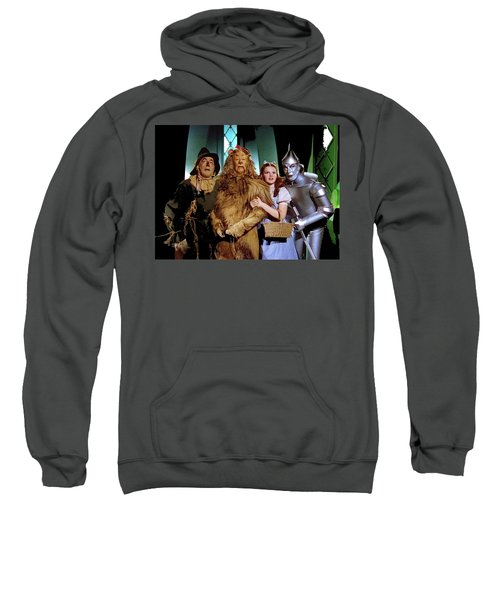 Judy Garland And Pals The Wizard Of Oz 1939-2016 Sweatshirt