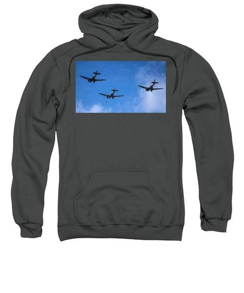 Jumping In Sweatshirt
