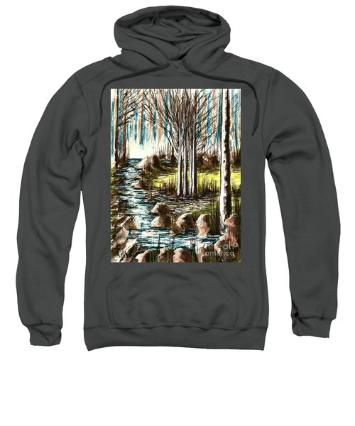 Just Around The Riverbend  Sweatshirt