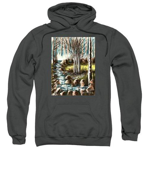 Just Around The Riverbend  Sweatshirt
