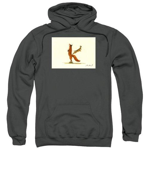 K Letter Woodland Alphabet Sweatshirt by Juan  Bosco