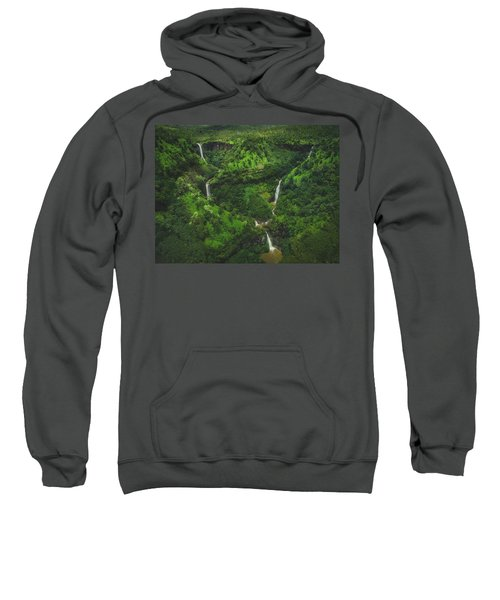 Kahili Falls Aerial Sweatshirt