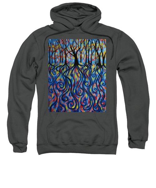 Kaleidoscope Forest Sweatshirt
