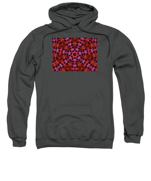Kaleidoscope With Seven Petals Sweatshirt