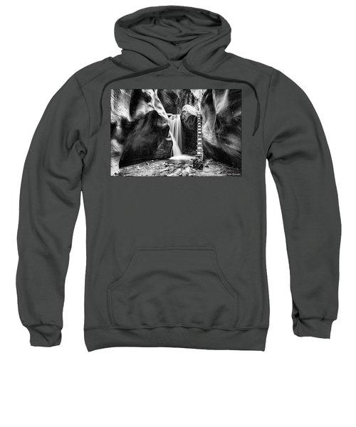 Kanarraville Falls Bw Sweatshirt