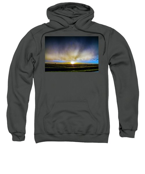 Kansas Storm Chase Bust Day 005 Sweatshirt