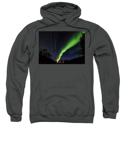 Kantishna Northern Lights In Denali National Park Sweatshirt