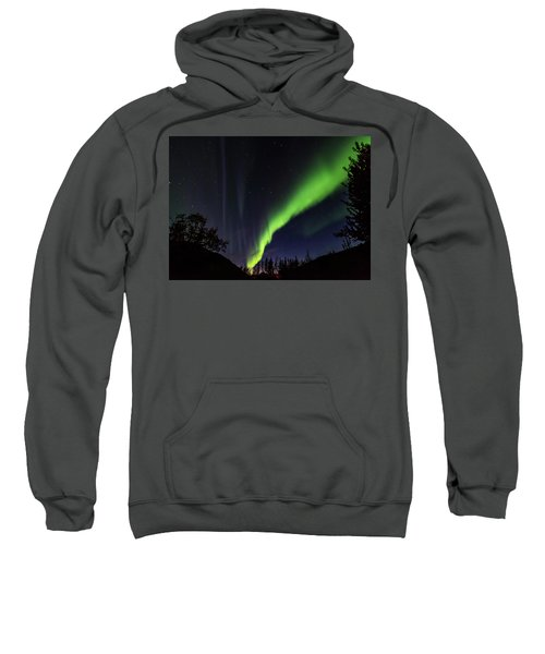 Kantishna Northern Lights In Denali National Park Sweatshirt