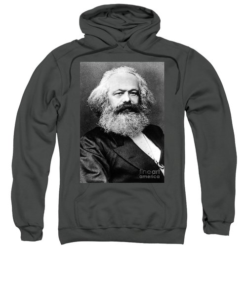 Karl Marx  German Politician Economist And Philosopher One Of The Authors Of Communist Pa Sweatshirt
