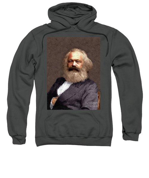 Karl Marx, Political Theorist And Philosopher Sweatshirt