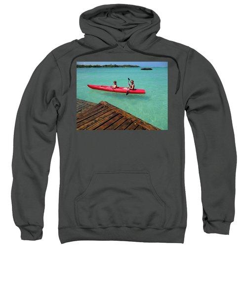 Kayaking Perfection 1 Sweatshirt