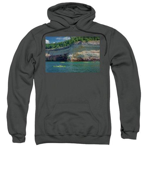 Kayaking The Pictured Rocks Sweatshirt